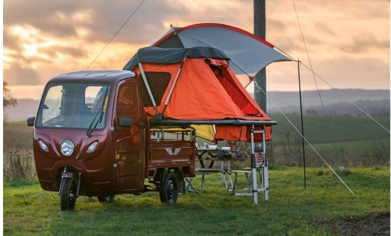 Electric Frog с палаткой