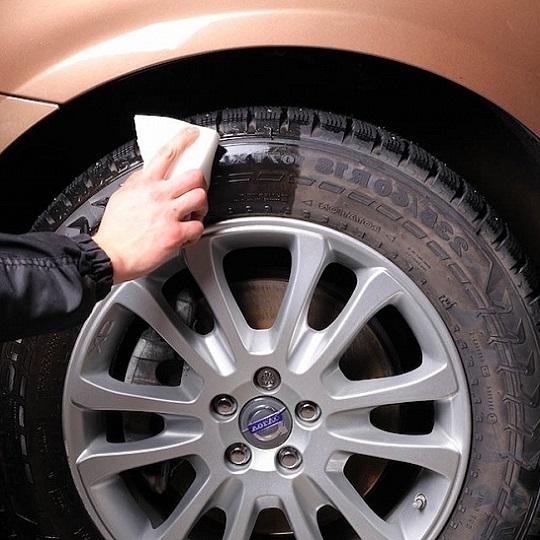 Чернение резины авто