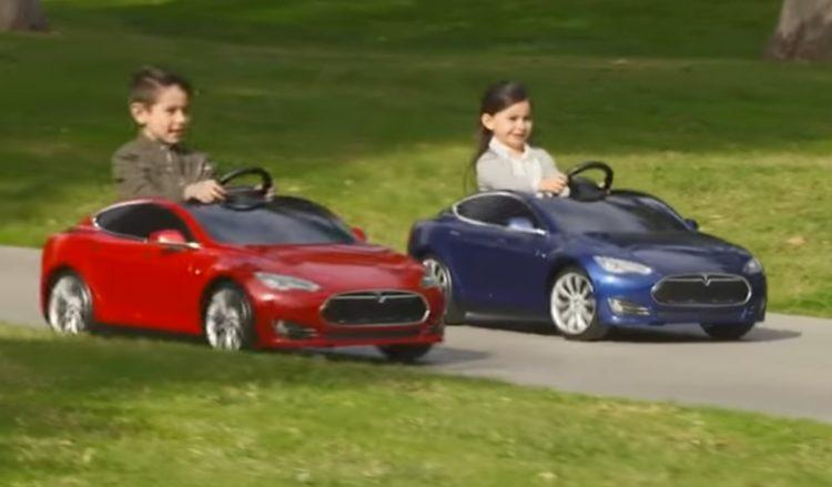 Детские машинки Tesla Model S