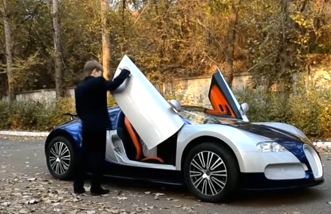Детский Bugatti Veyron