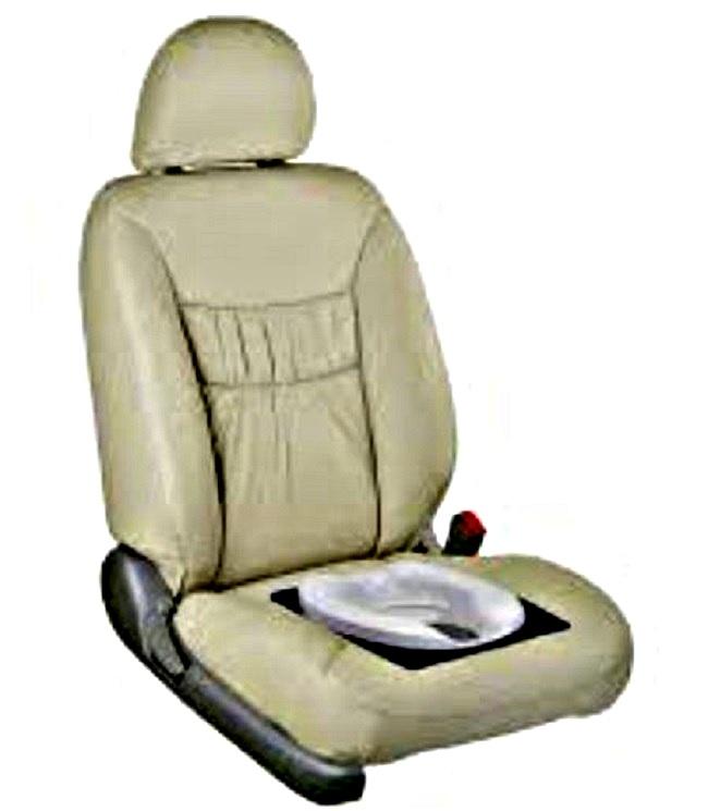 Сиденье для авто с унитазом