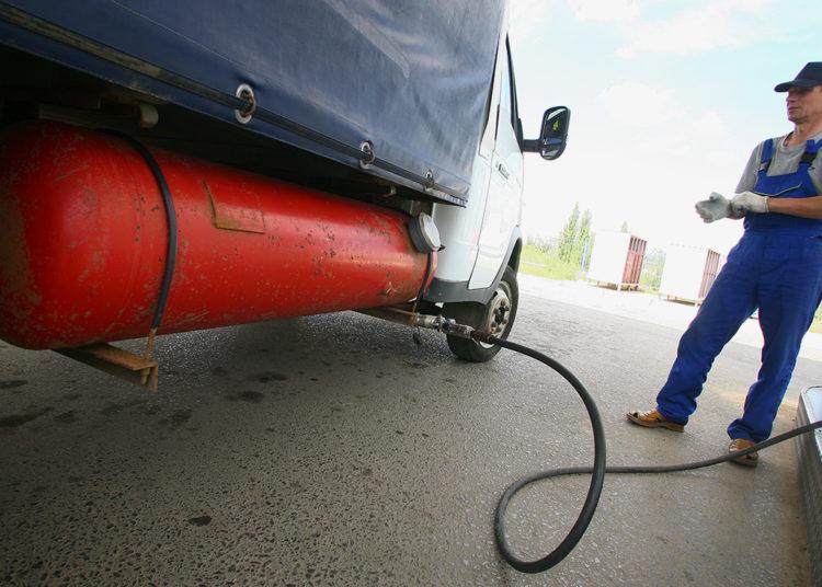 Метан в грузовом автомобиле