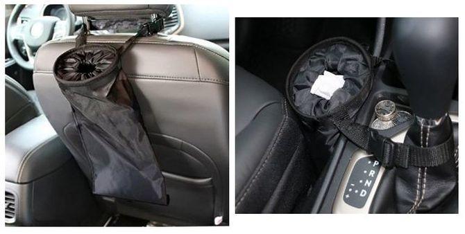 Мусорный мешок в автомобиль