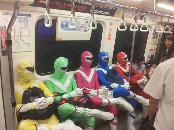 Супермены в транспорте