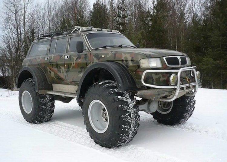 Внедорожник из ГАЗ-3110