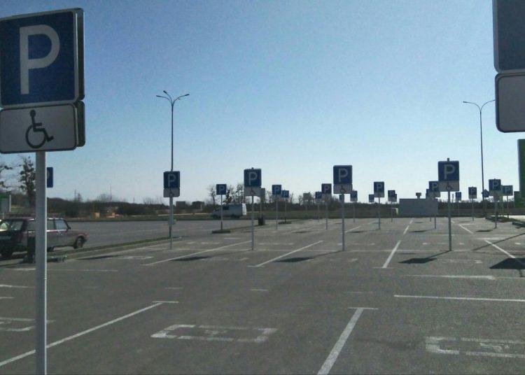 Парковка и знаки инвалидов