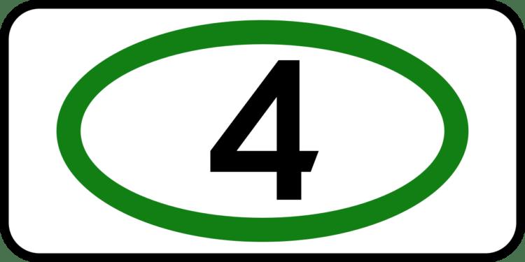 Знак экологический класс 4