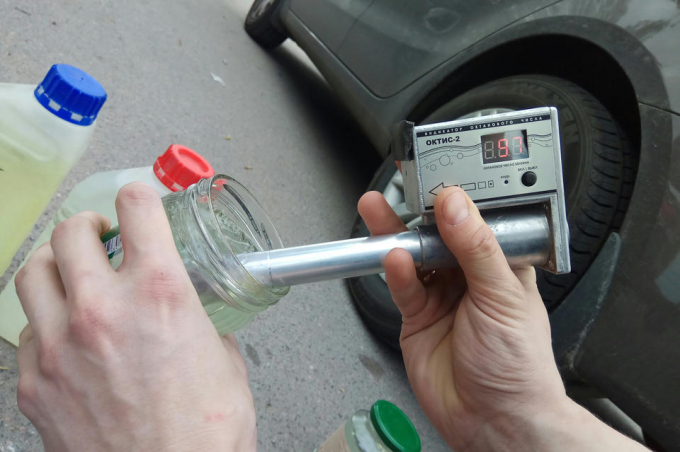 Измерение качества топлива