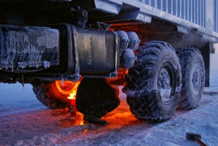 Поджигание шин в СССР
