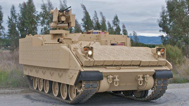 Бронированная машина армии США