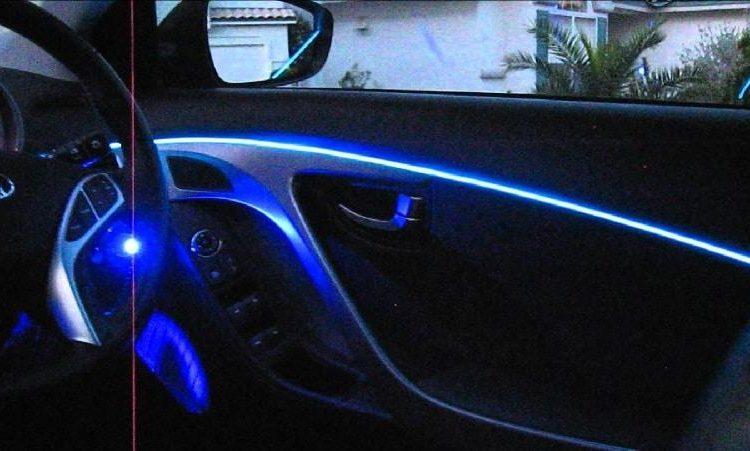 Подсветка приборной панели