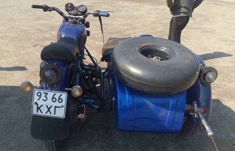Мотоцикл с ГБО