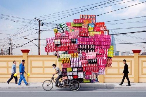Ящики на велосипеде