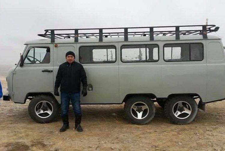 Удлиненная Буханка в Монголии