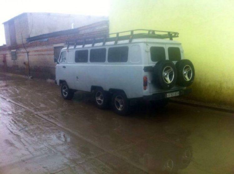 Удлиненный кузов УАЗ