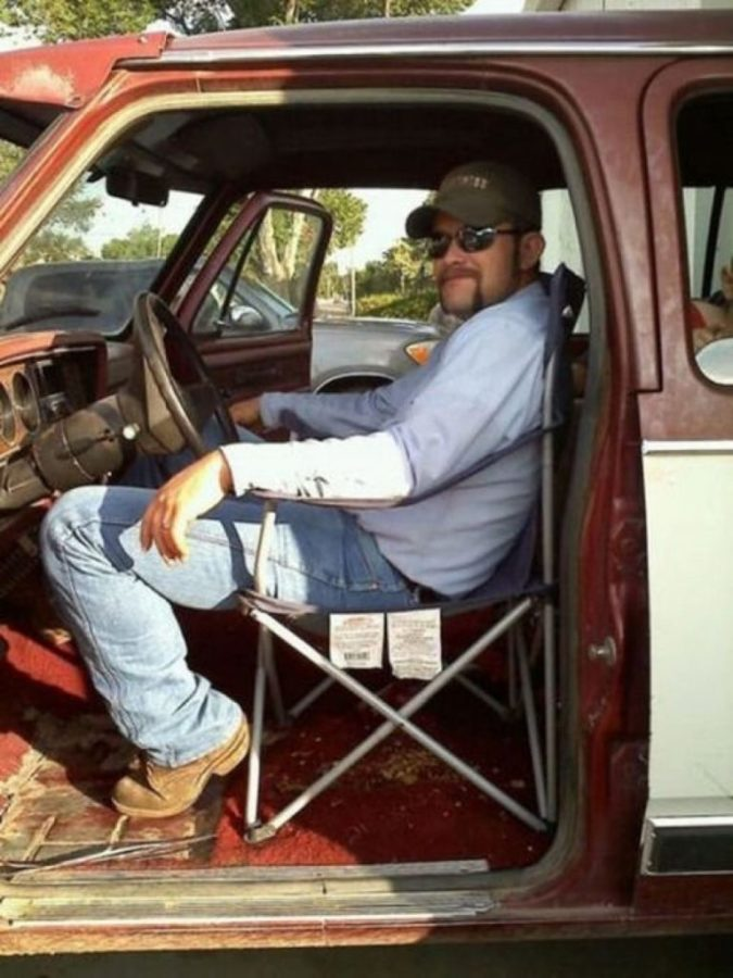 Раскладной стул вместо автокресла