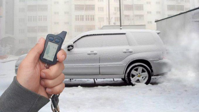 Автозапуск мотора в мороз
