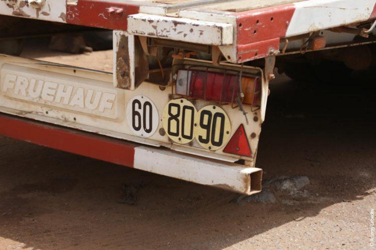 Обозначение на грузовике 60, 80, 90