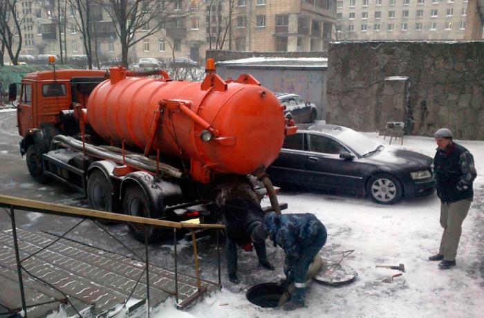 Выкачка из канализации