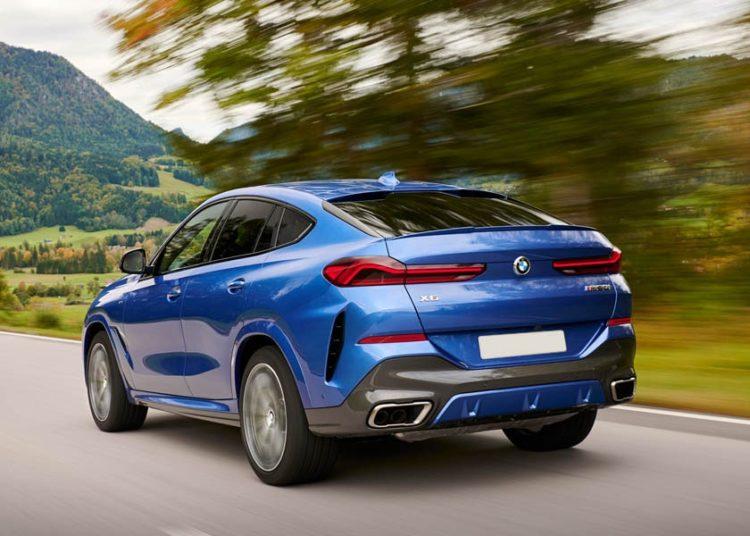 BMW X6 2020 G06 по трассе