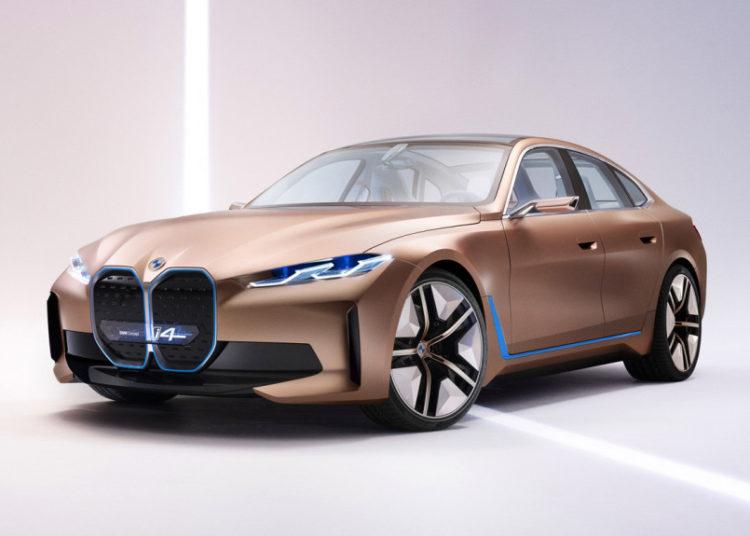 Электрический BMW i4