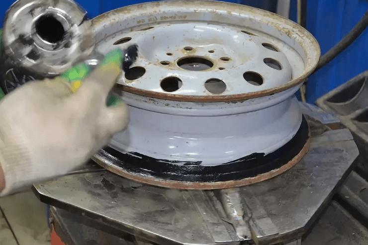 Обработка диска авто