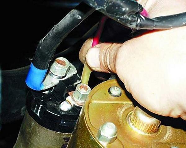 Измерение тока на стартере