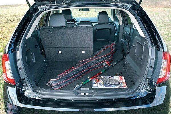 Багажное отделение Ford Edge