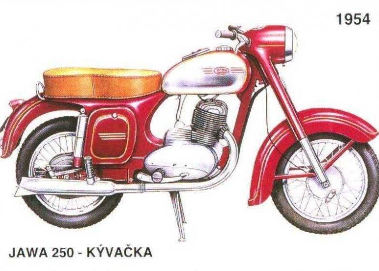 Ява 1954 года