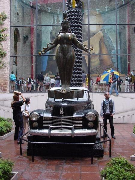 Дождливое такси и туристы