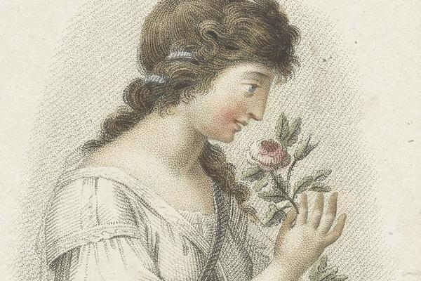 Гречанка с розой