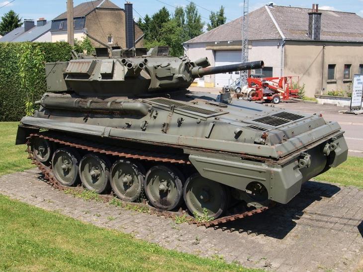 Танк FV101 «Скорпион»