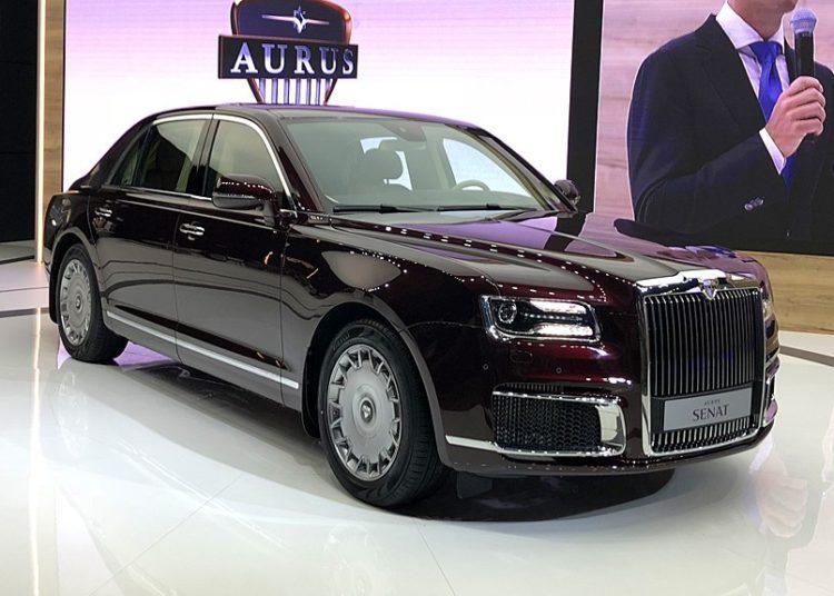 Aurus Senat. в автосалоне
