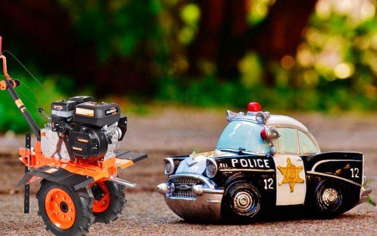 Игрушки мотоблок и полиция