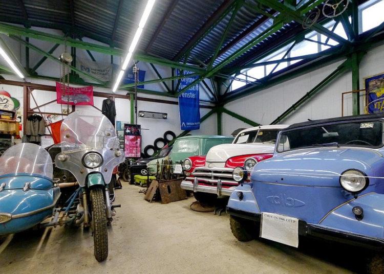 Зал-музей для автомобилей