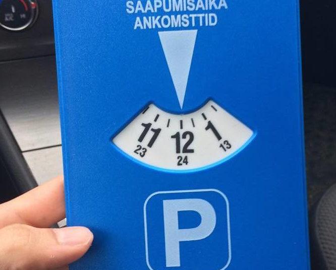 Часы для парковки