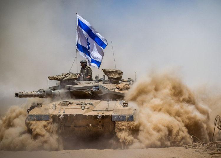 Израильский танк Merkava Mark IV