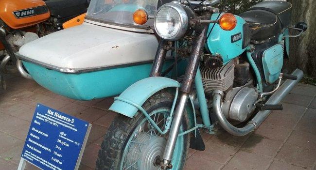 Мотоцикл ИЖ с коляской