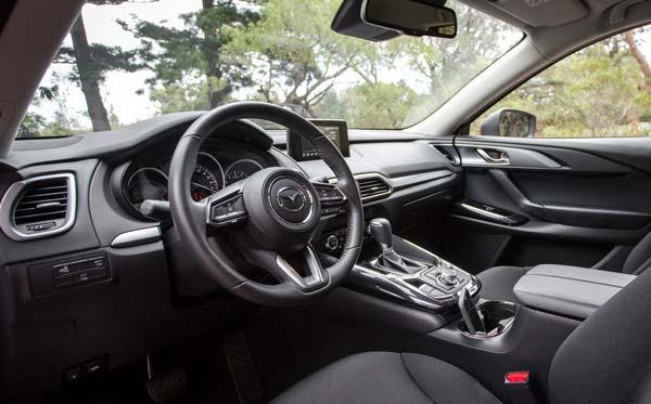 Руль и передние сидения Mazda СХ 9 2021 2022