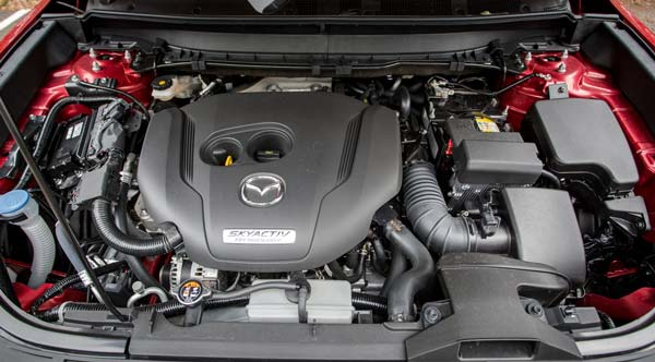 Открытый багажник Mazda СХ 9 2021 2022