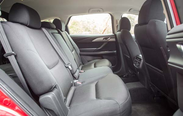 Задние сидения Mazda СХ 9 2021 2022