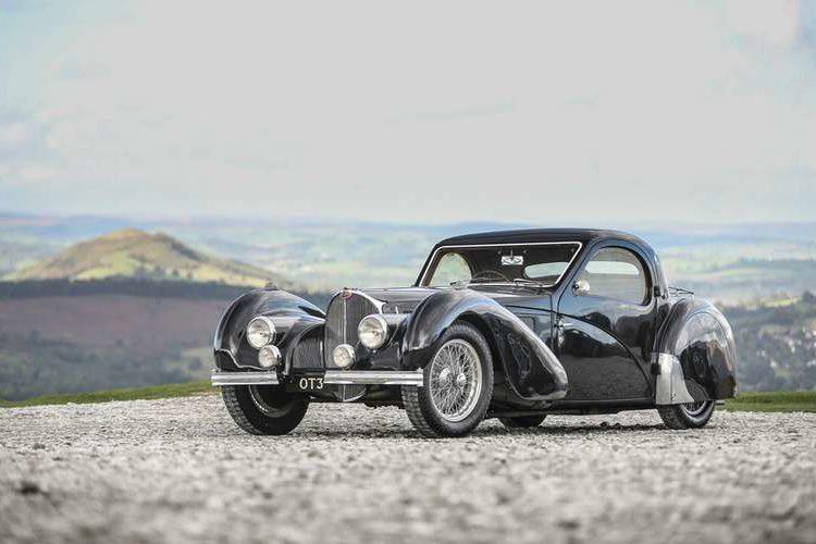 Bugatti Type 57 S Atalante 1937 года