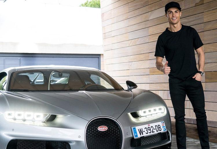 Bugatti La Voiture Noire Роналду