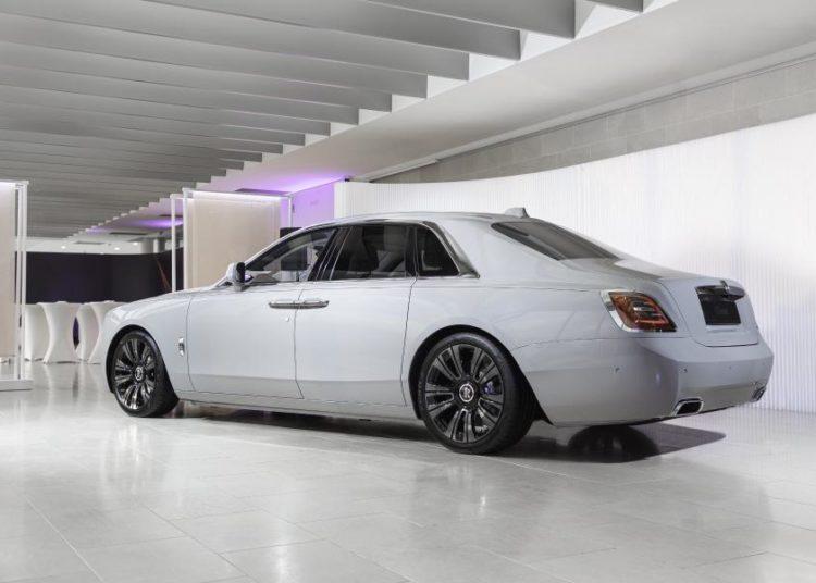 Rolls-Royce Ghost в салоне