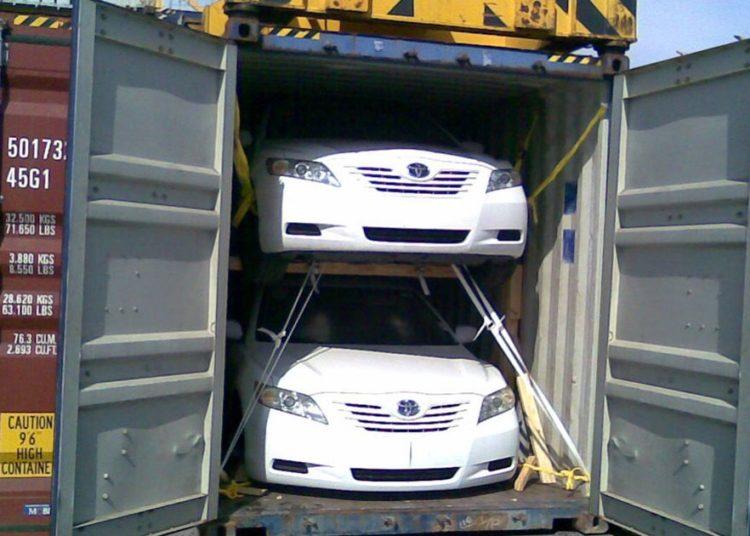 Перевозка машин в контейнерах