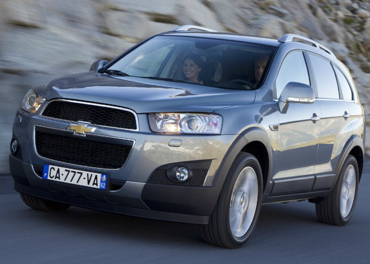 Chevrolet Captiva на 7 мест