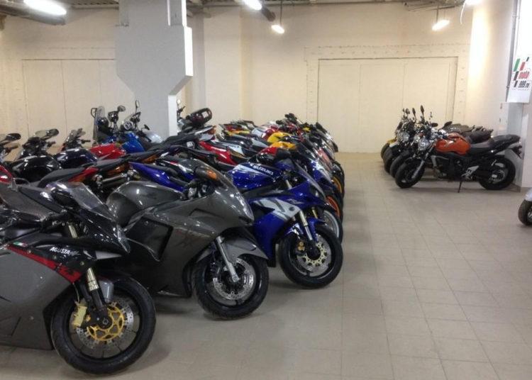 Мотоциклы на японском аукционе