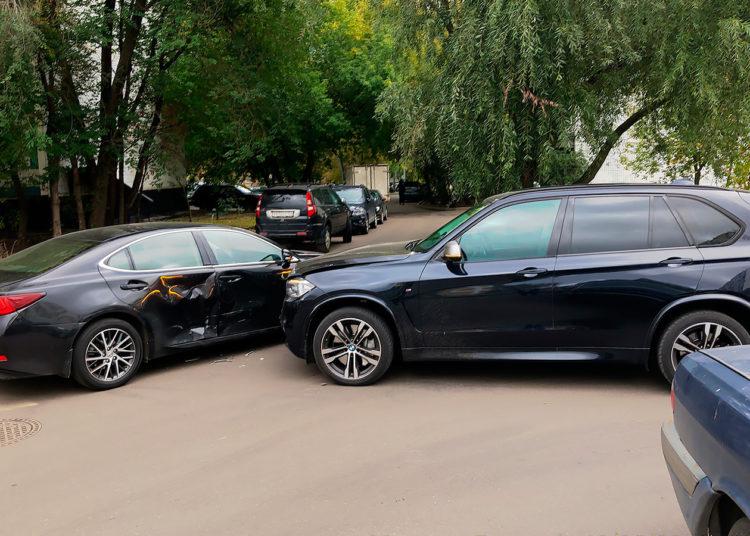 ДТП с двумя автомобилями