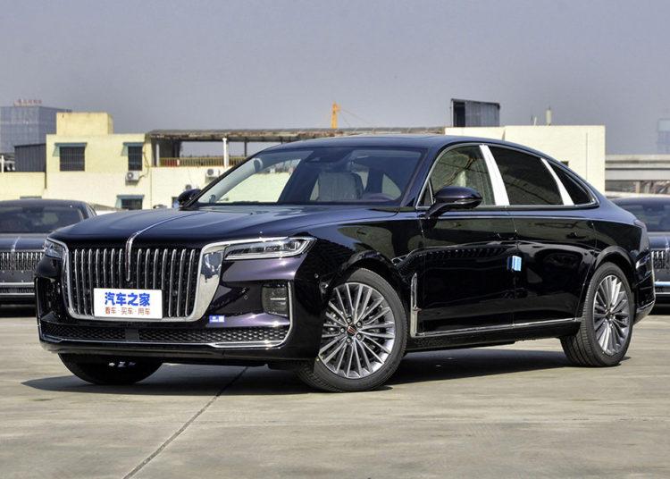 Китайский автомобиль представительского класса Hongqi