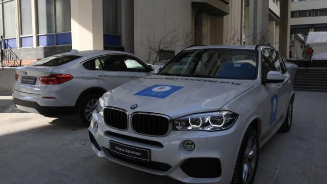 Олимпийские кроссоверы марки BMW